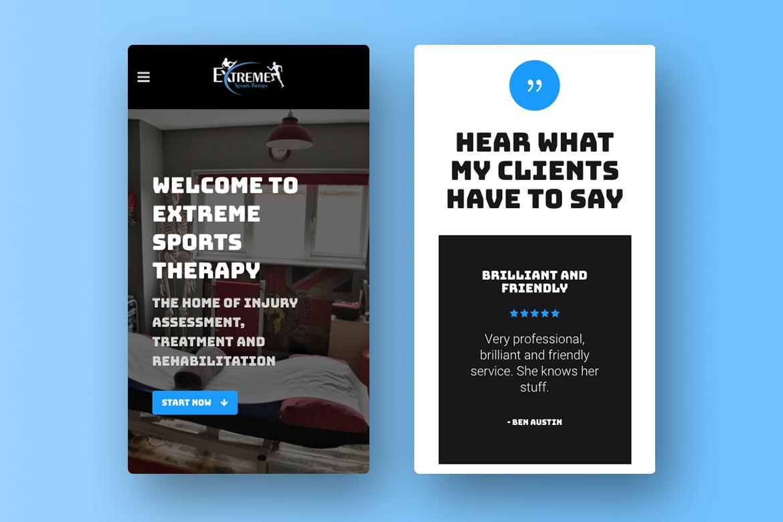 Custom WordPress Responsive Website Home