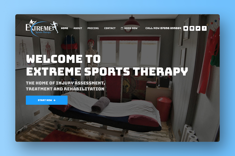 Custom WordPress Website Home