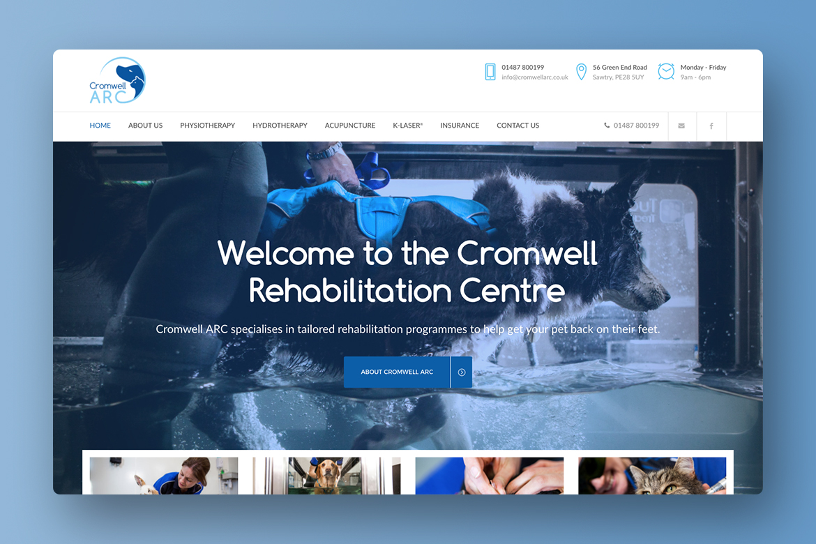 Cromwell ARC Responsive Website Design 1