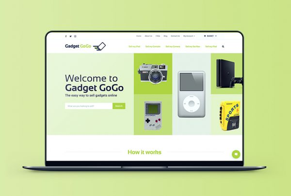 Gadget GoGo Responsive WordPress Website