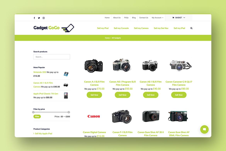 E Commerce Web Design Huntingdon